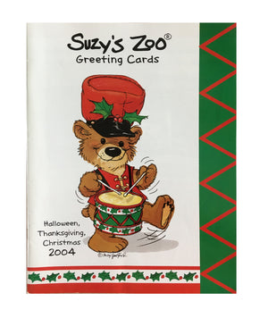Suzy's Zoo Wholesale Promotional Catalog Halloween, Thanksgiving, Christmas 2004 - Suzy's Zoo Studios