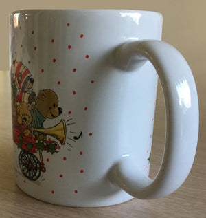 Suzy's Zoo Bears of Duckport Christmas Holiday Express Vintage Ceramic Mug