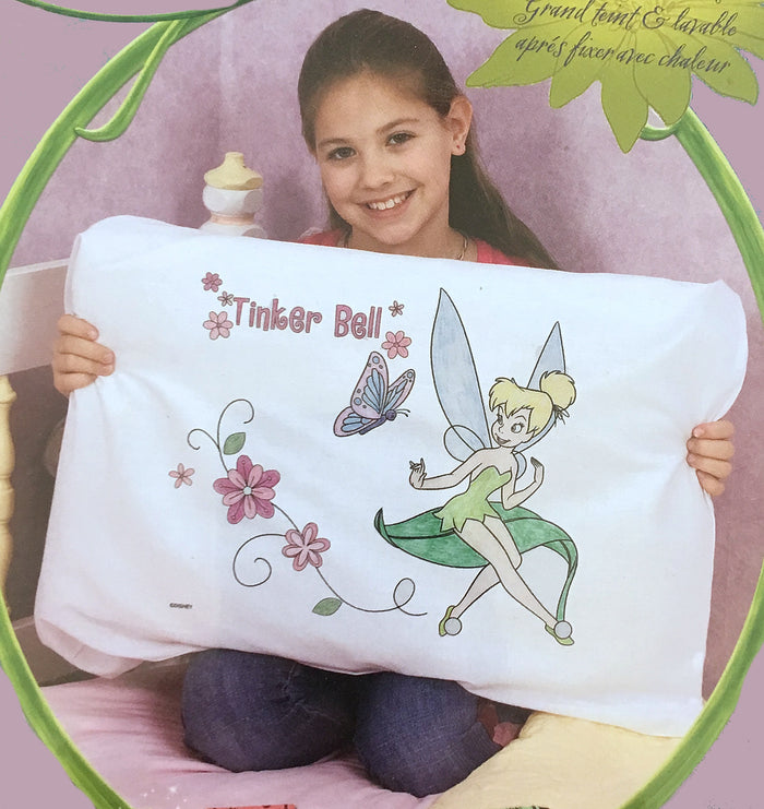 Tinkerbell Pillowcase Coloring Art Kit - Gift or Party Favor