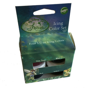 Tinkerbell Icing Color Set - Four 1/2 oz Icing Colors