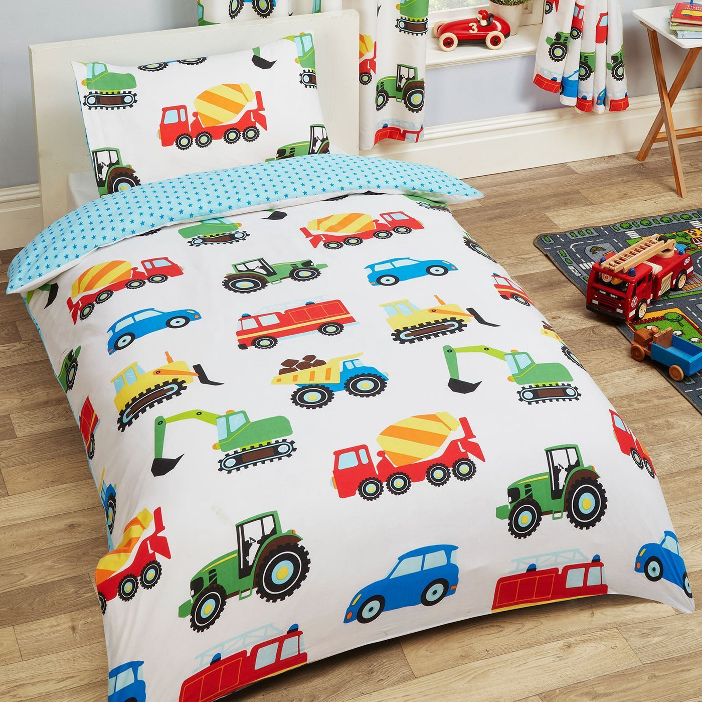 Cars / Trucks Bedding