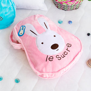 Pink Bunny Bag with Blanket