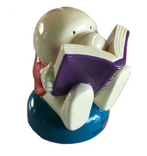 "Ziggy Earthenware Collectible 4"" Figurine 'Ziggy With Bible'"