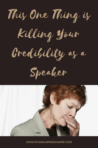 This One Thing is Killing Your Credibility as a Speaker
