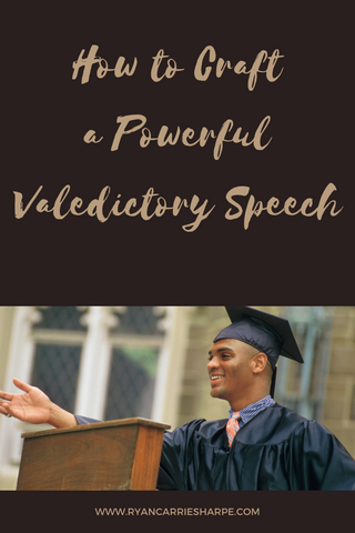 How to Craft a Powerful Valedictory Speech