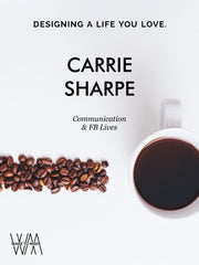 Wake to Make podcast with Carrie Sharpe