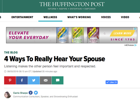 4 Ways to Really Hear Your Spouse