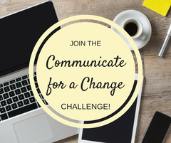 Communicate for a Change email challenge