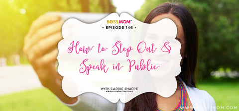 How to Step Out and Speak in Public