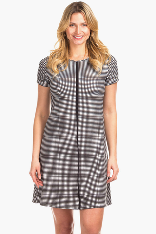 Addison Dress in Gingham