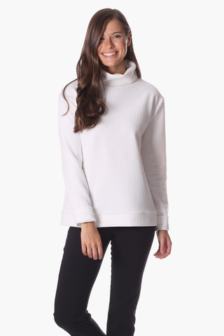 Brandy Pullover in White Star