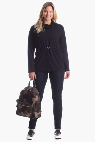 Carmen Pullover in Black