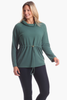 Carmen Pullover in Evergreen