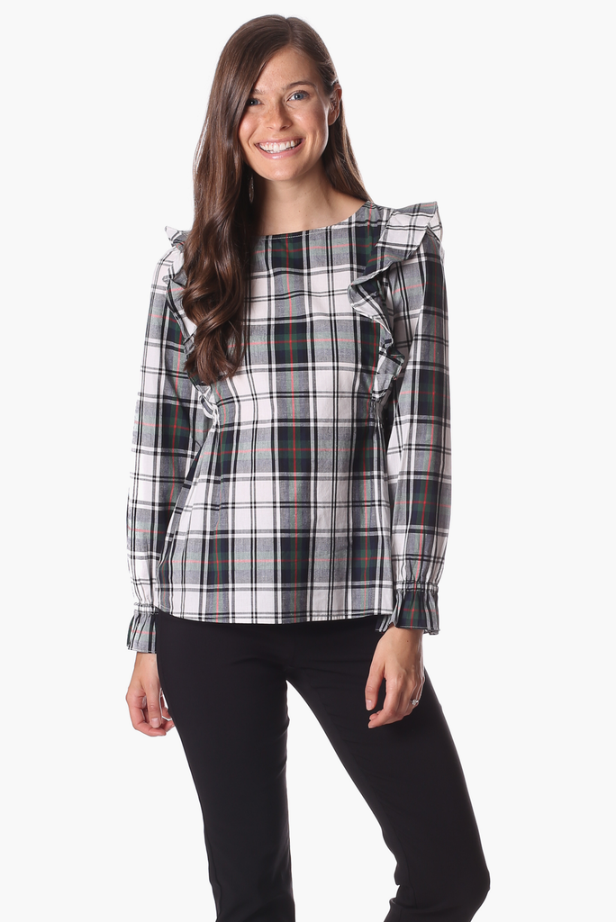 Carter Top in Plaid