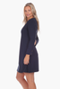 Davis Dress in Navy
