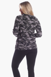 Finley Funnel Neck in Camo