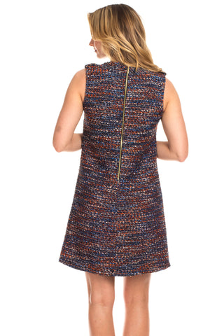 Violet Dress in Tweed