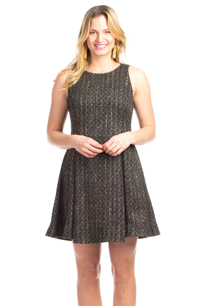 Pierce Dress in Tweed