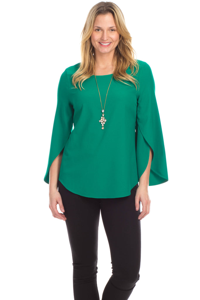 Madison Top in Emerald