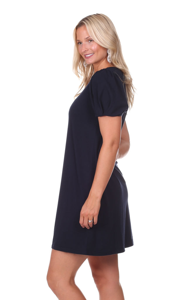 Colette Dress in Navy
