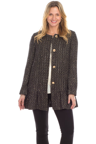 Sylvia Sweater in Black