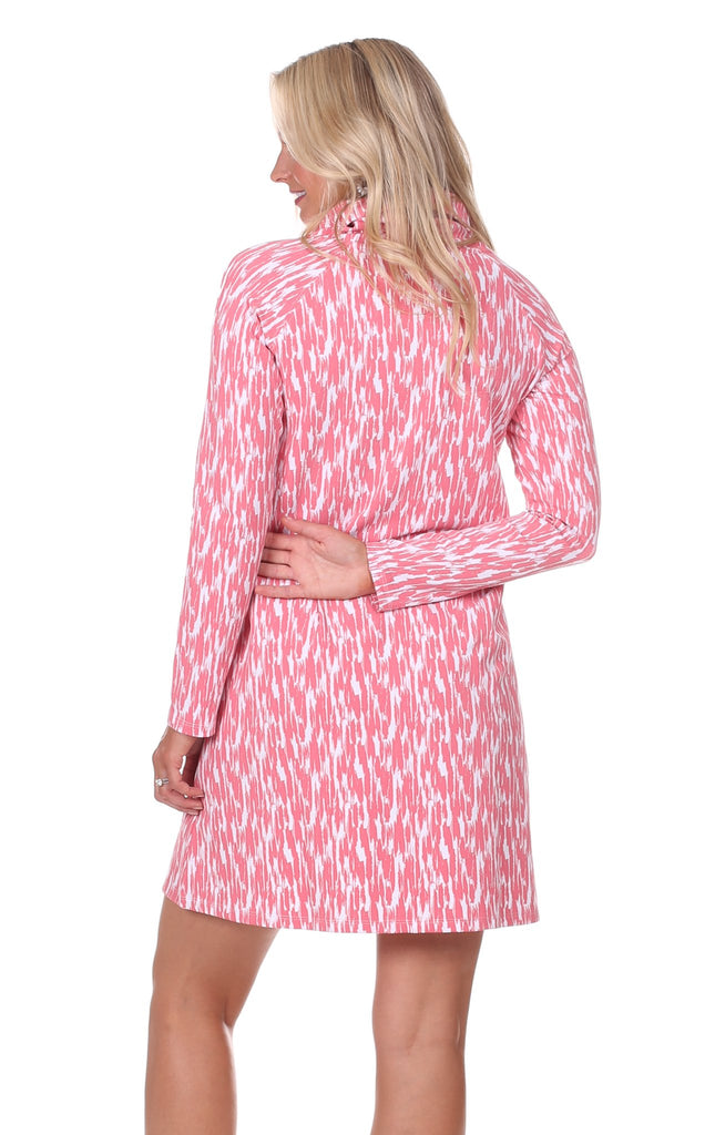 Emmerson Dress in Strawberry Brush Print