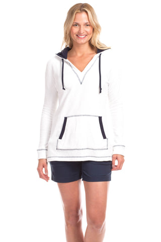 Carlisle Cardigan in White