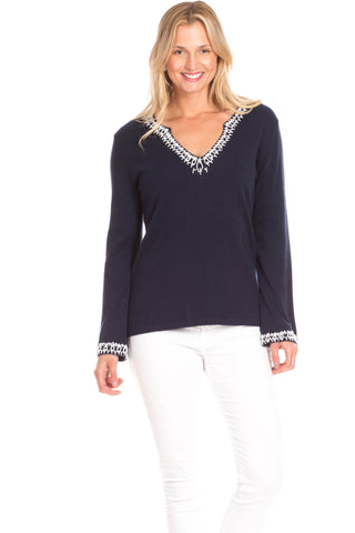 Cooper Cardigan in Navy