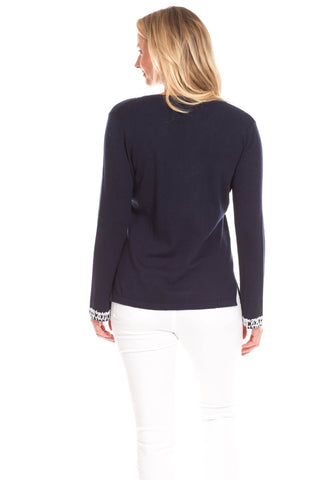 Briggs Sweater in Navy