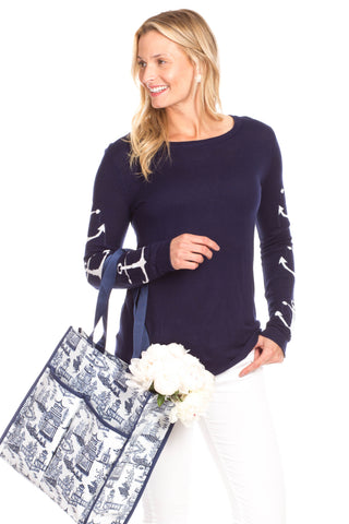 Sandford Sweatshirt in Navy