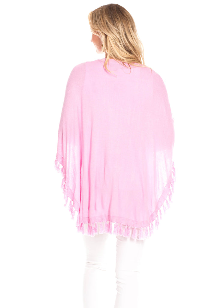 Penny Poncho in Orchid