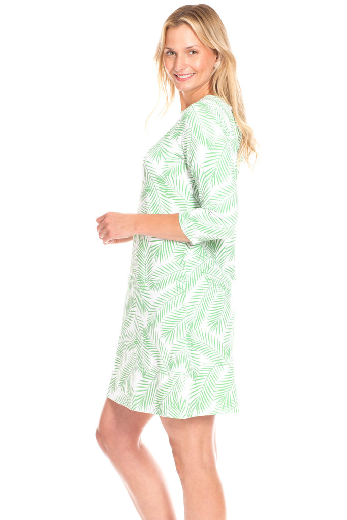 Tustin Tie-Back Dress in Palm
