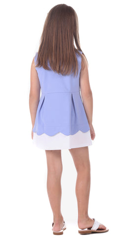 Girls Chloe Dress in Lavender