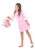 Girls Rosewood Dress in Pink Stripe