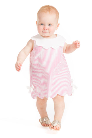 Girls Darby Dress in Pink