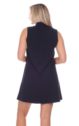 Kerry Dress in Navy
