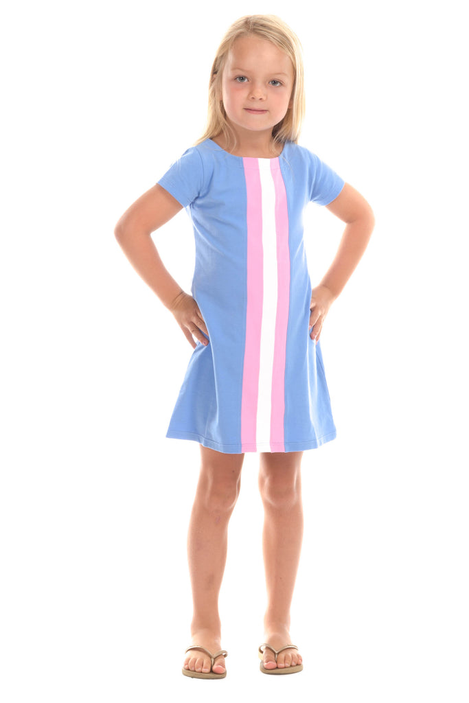 Girls Abigail Dress in Vista