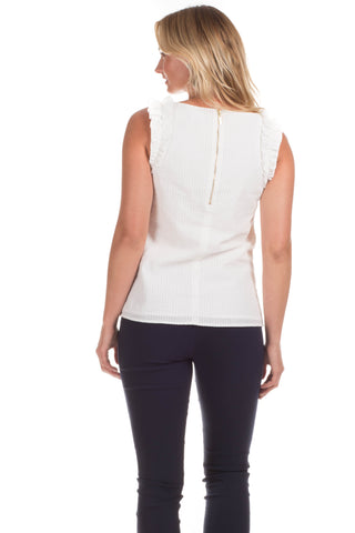 Mercer Top in White