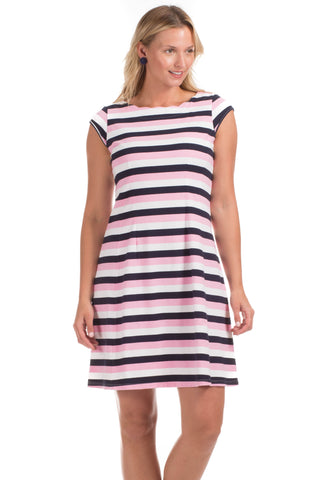 Girls Darby Dress in Vista