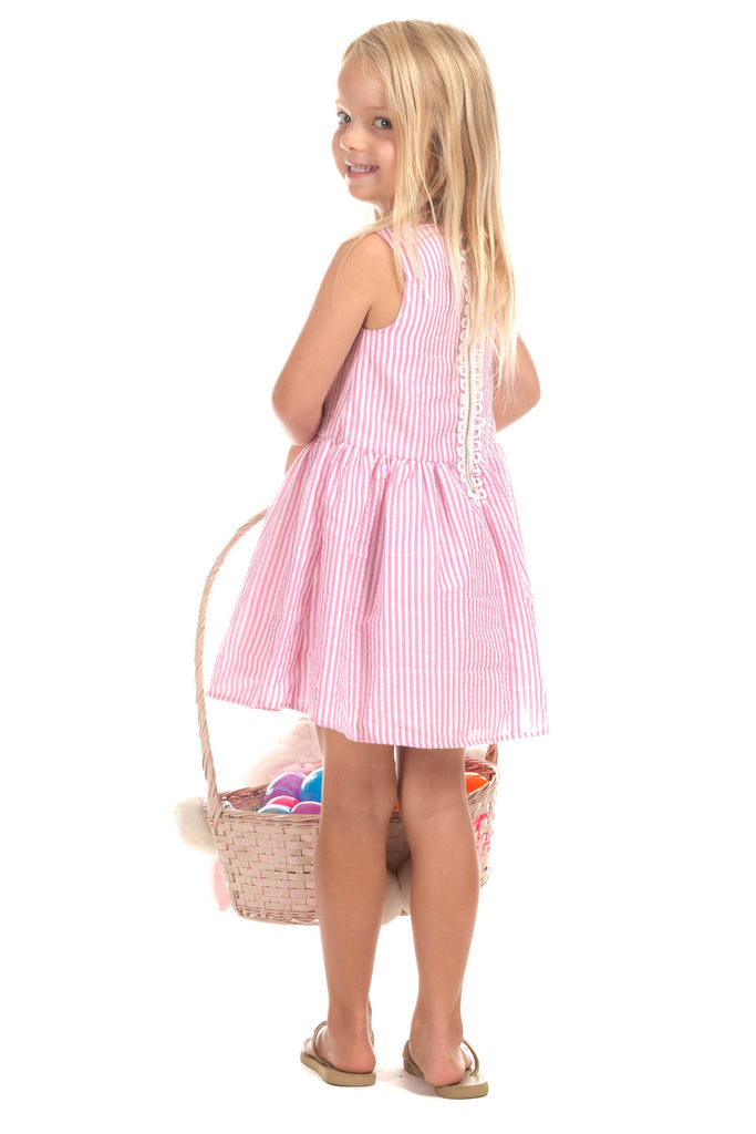 Girls Jenny Dress in Pink