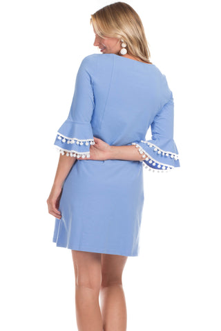 Rosewood Dress in Vista Blue