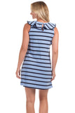 Darby Dress in Vista Stripes