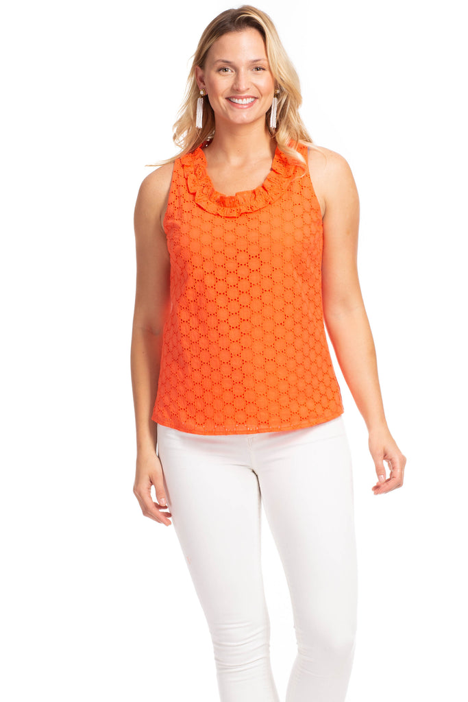Rennie Top in Poppy