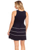 Leelanau Dress in Navy