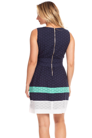 Clearwater Dress in Navy