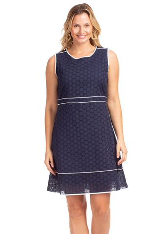 Eyelet Bridgeport in Stripe