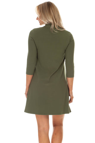 Kingsley Dress in Olive