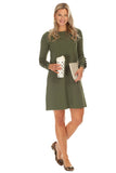 Radcliff Dress in Olive