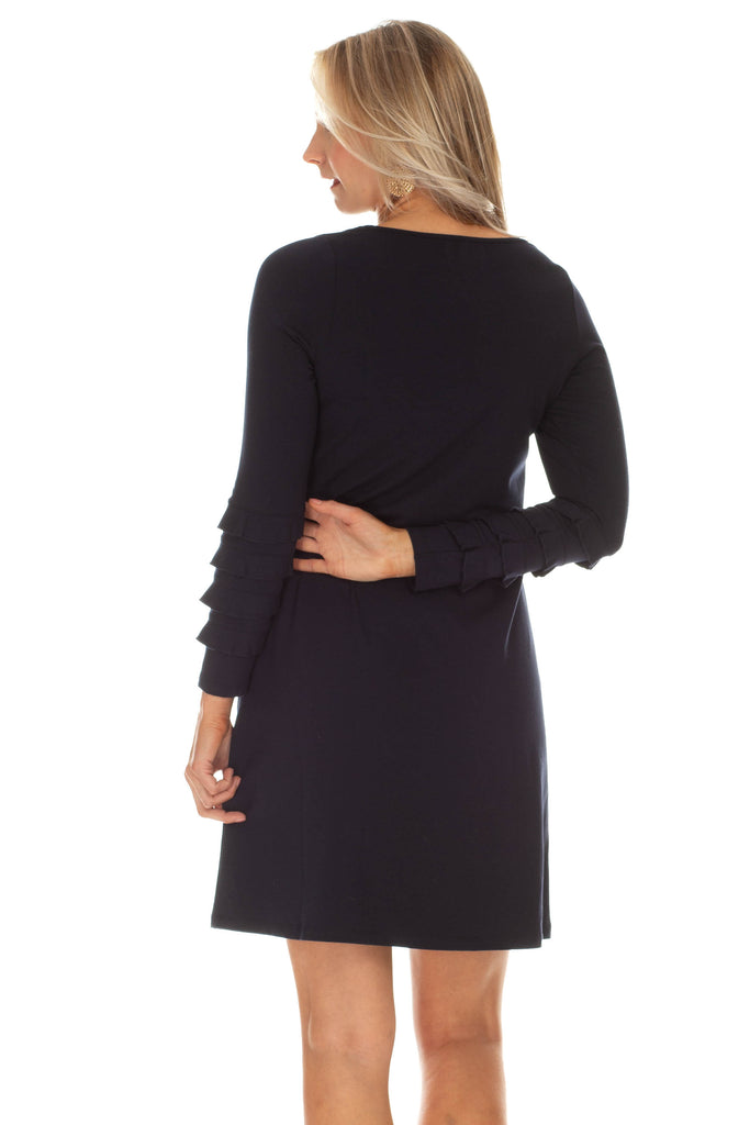 Radcliff Dress in Navy