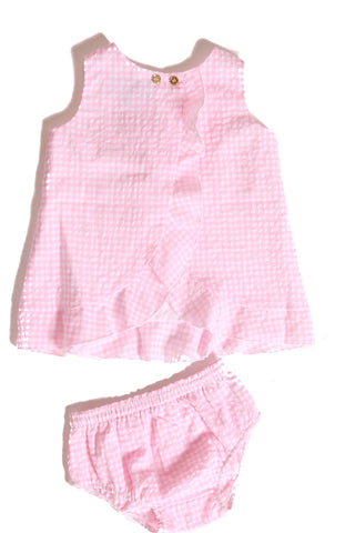 Baby Jackie in Pink Gingham